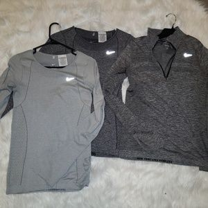 Women's Nike Dri-Fit long sleeve running tops